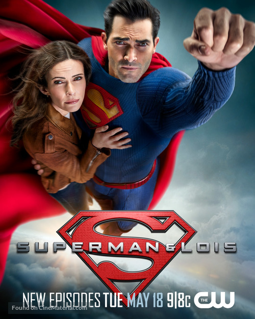 """""""Superman and Lois"""" - Movie Poster"""