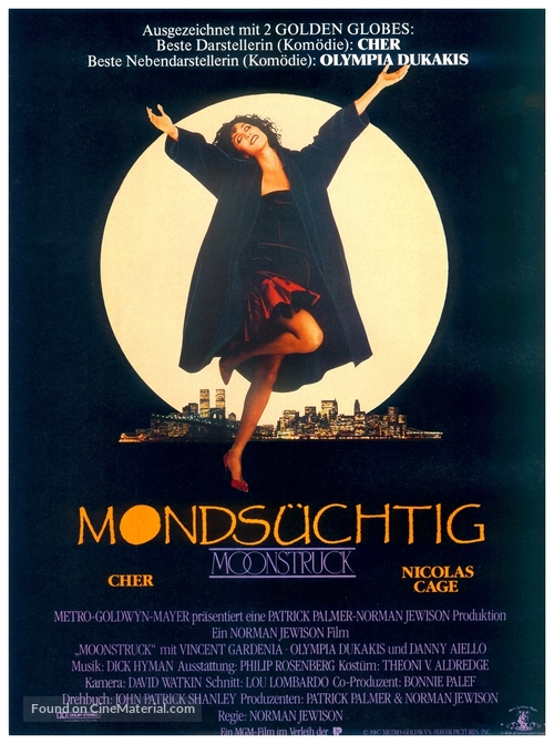Moonstruck - German Movie Poster