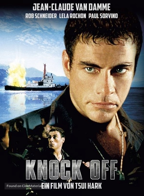 Knock Off - Swiss Blu-Ray movie cover