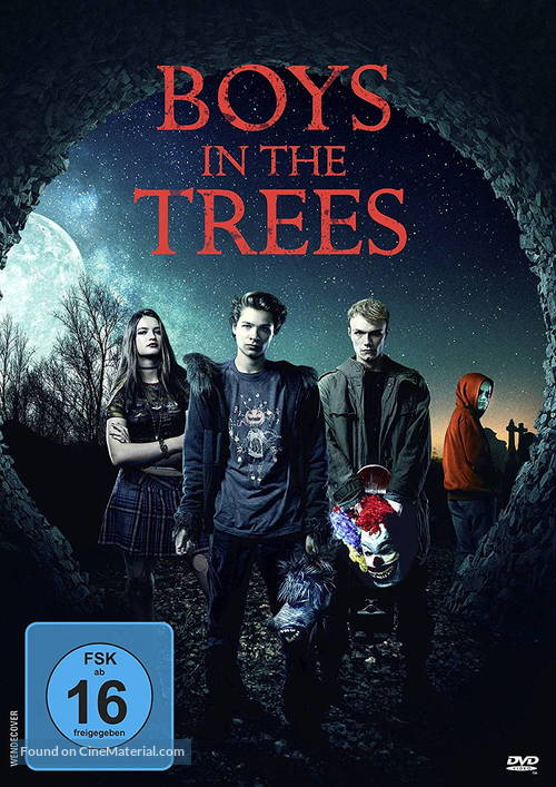 Boys in the Trees German movie cover