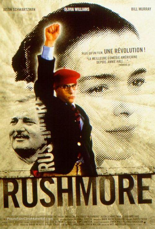Rushmore - French Movie Poster