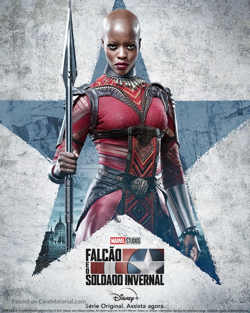 """""""The Falcon and the Winter Soldier"""" - Brazilian Movie Poster"""
