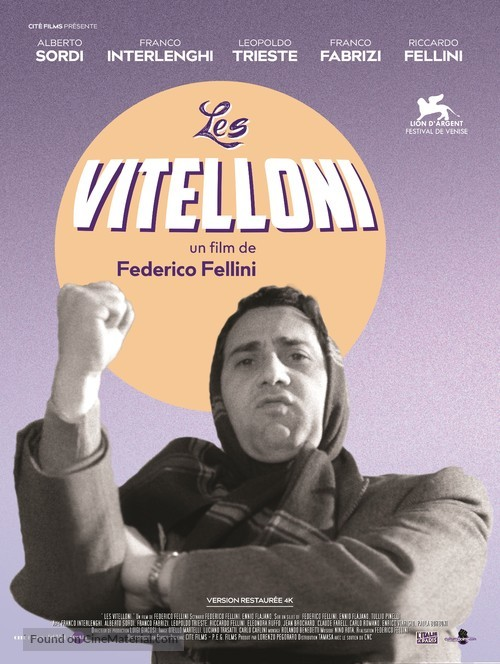 I vitelloni - French Re-release movie poster