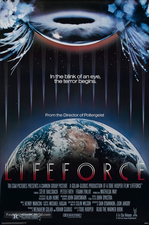 Lifeforce - Movie Poster