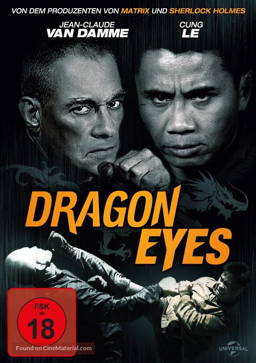 Dragon Eyes - German DVD movie cover