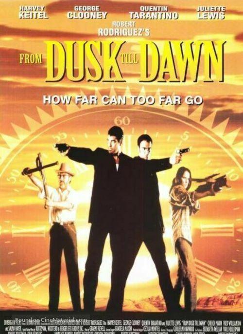 From Dusk Till Dawn - Movie Poster