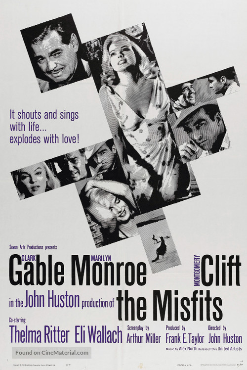 The Misfits - Movie Poster
