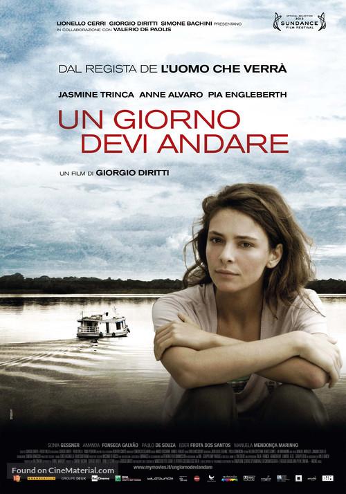 Un giorno devi andare - Italian Movie Poster