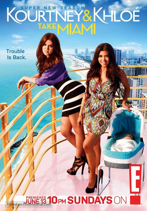 """Kourtney & Khloe Take Miami"" - Movie Poster"