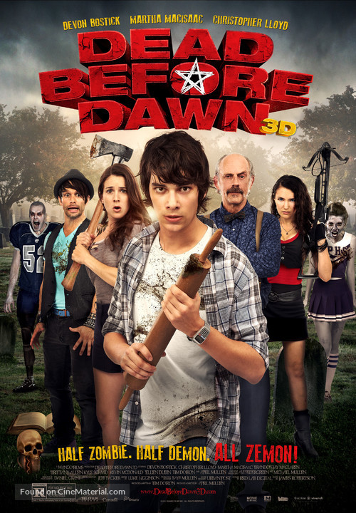 Dead Before Dawn 3D - Movie Poster