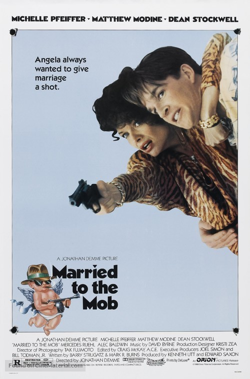 Married to the Mob - Movie Poster
