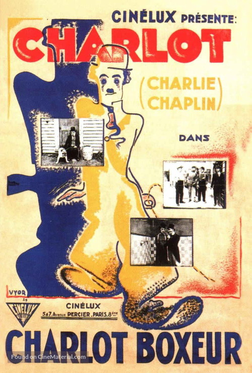 The Champion - French Movie Poster