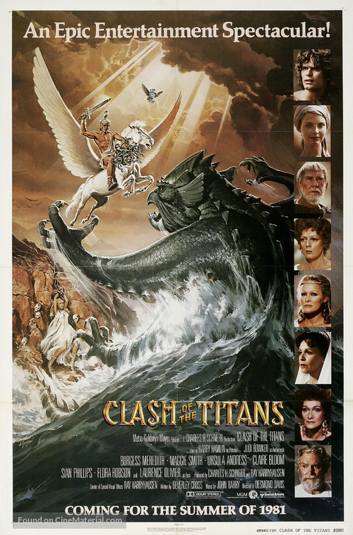Clash of the Titans - Movie Poster