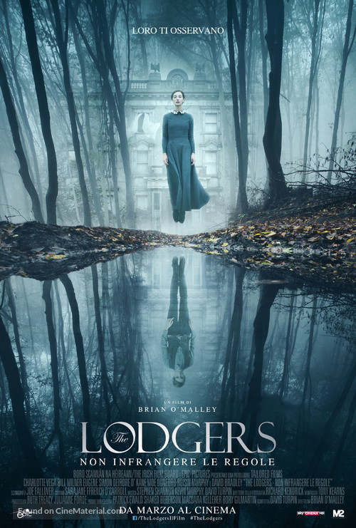 The Lodgers - Italian Movie Poster