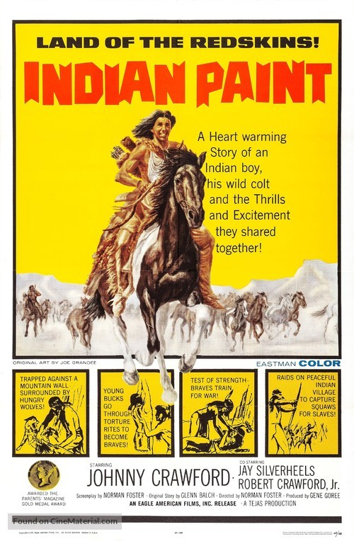 Indian Paint - Movie Poster