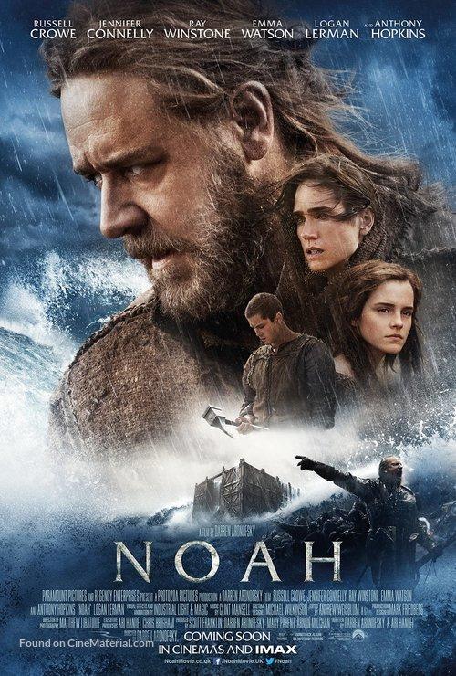 Noah - British Movie Poster