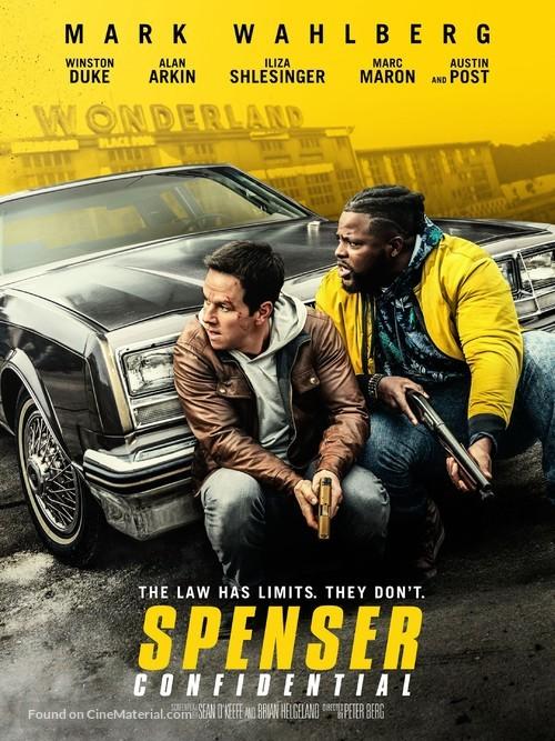 Spenser Confidential - Movie Cover