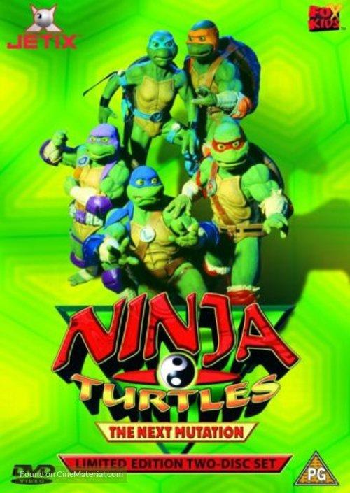 """Ninja Turtles: The Next Mutation"" - British DVD movie cover"
