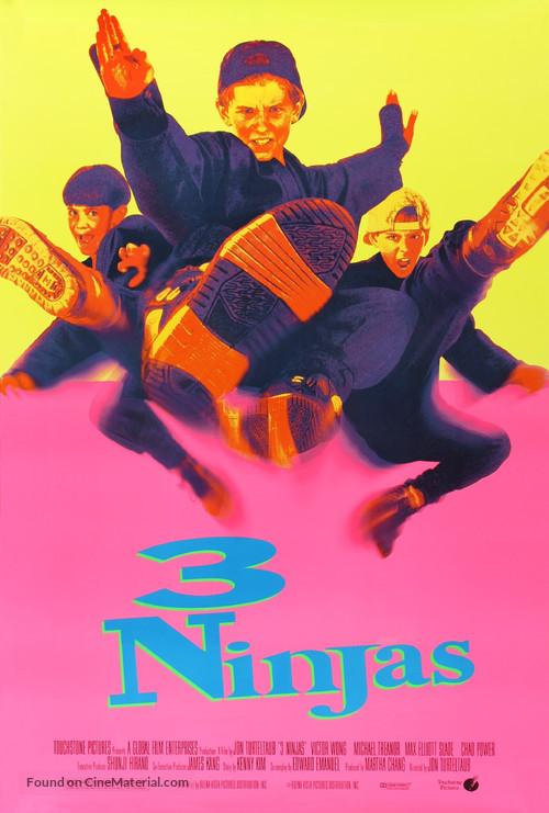 3 Ninjas - Movie Poster