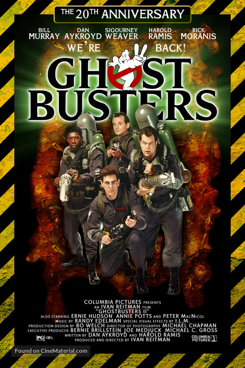 Ghostbusters movie poster
