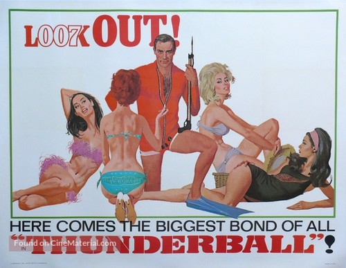 Thunderball - Movie Poster