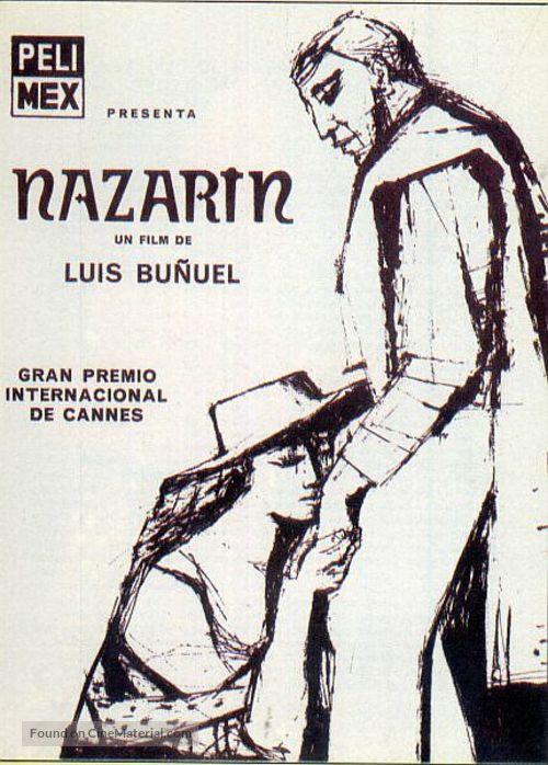 Nazarín - Spanish Movie Poster