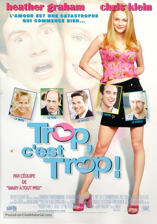 Say It Isn't So - French Movie Poster
