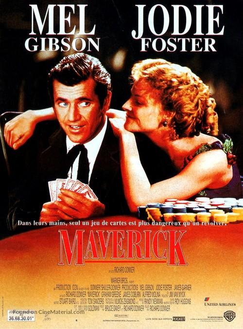 Maverick - French Movie Poster