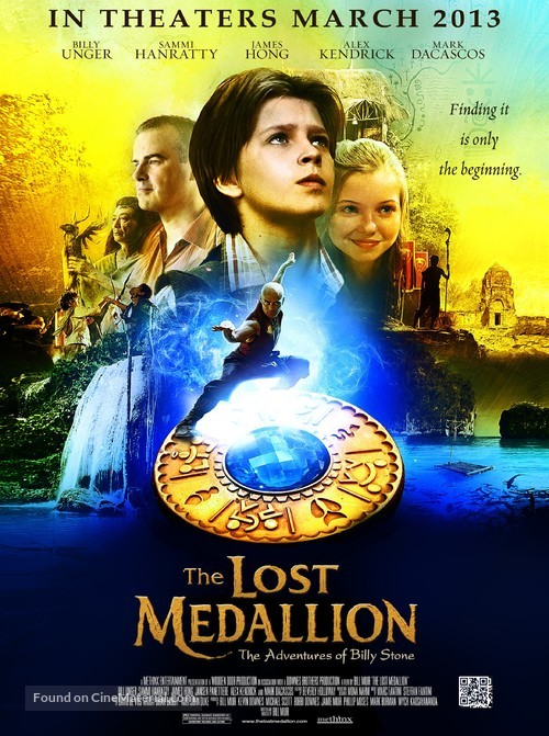 The Lost Medallion: The Adventures of Billy Stone - Movie Poster