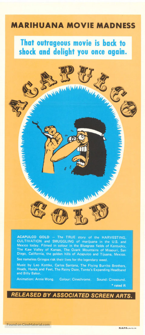 Acapulco Gold - Movie Poster