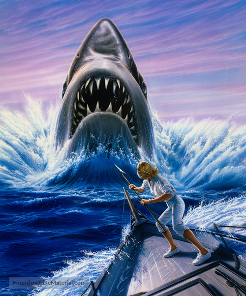 Jaws: The Revenge - Key art