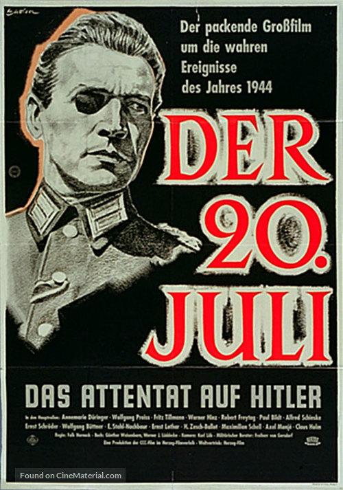 20. Juli, Der - German Movie Poster
