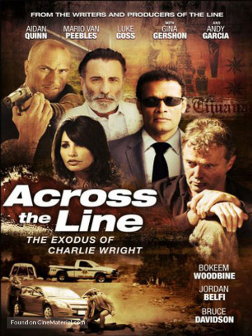 Across the Line: The Exodus of Charlie Wright - DVD movie cover