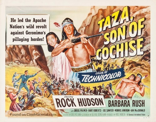 Taza, Son of Cochise - Movie Poster