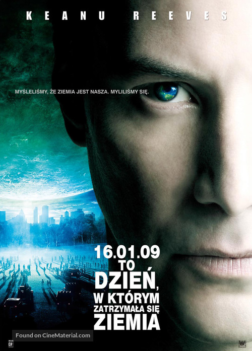 The Day the Earth Stood Still - Polish Movie Poster
