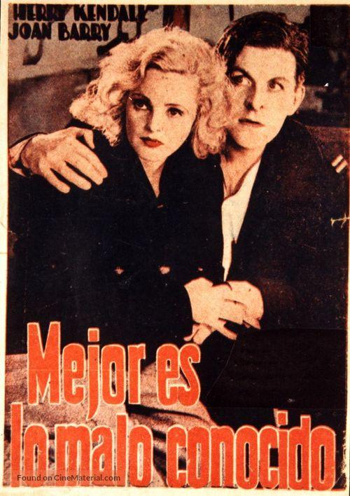 Rich and Strange (1931) Spanish movie poster