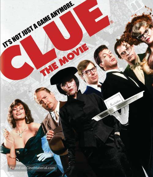 Clue - Blu-Ray movie cover