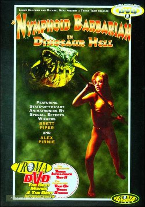 A Nymphoid Barbarian in Dinosaur Hell - Movie Cover