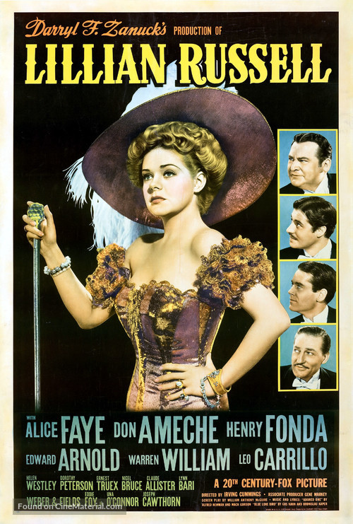 Lillian Russell - Movie Poster