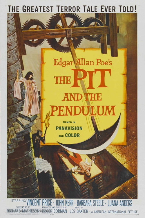Pit and the Pendulum - Movie Poster