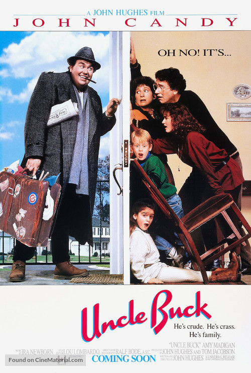 Uncle Buck - Advance movie poster