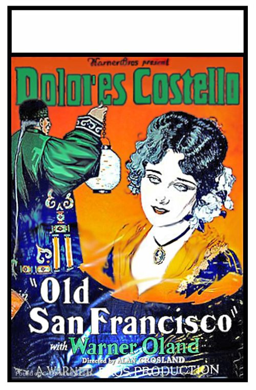 Old San Francisco - Movie Poster
