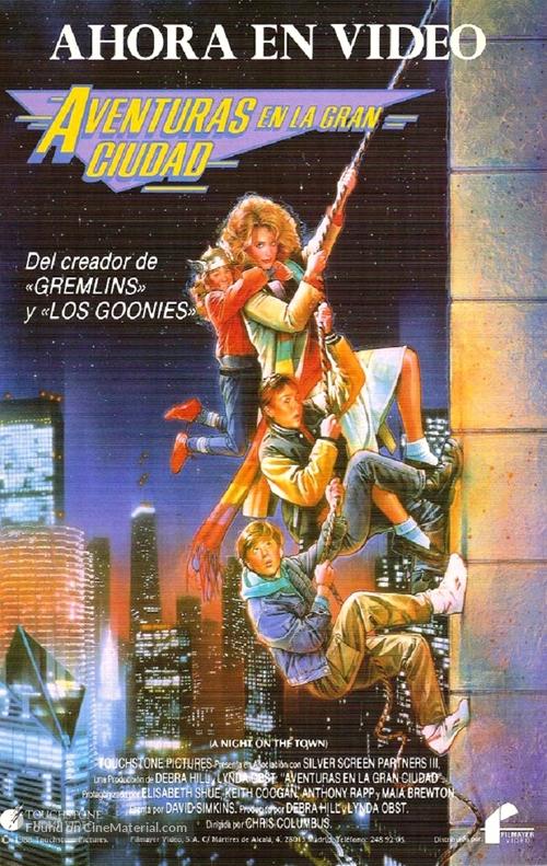Adventures in Babysitting - Spanish Movie Poster