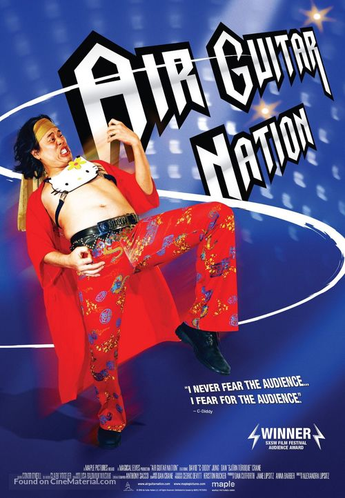 Air Guitar Nation - Canadian Movie Poster