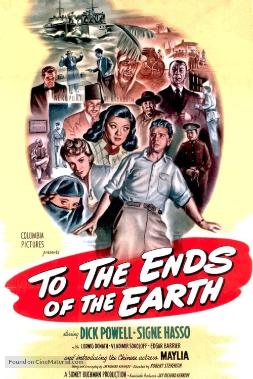 To the Ends of the Earth - Movie Poster