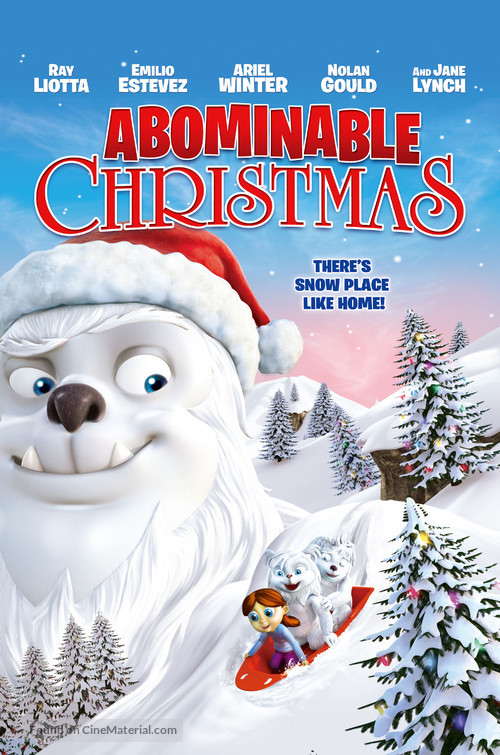 Abominable Christmas - DVD movie cover