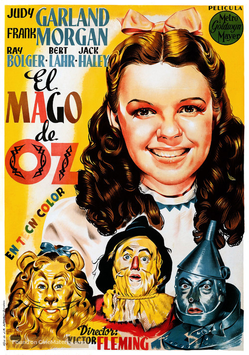 The Wizard of Oz - Spanish Re-release movie poster