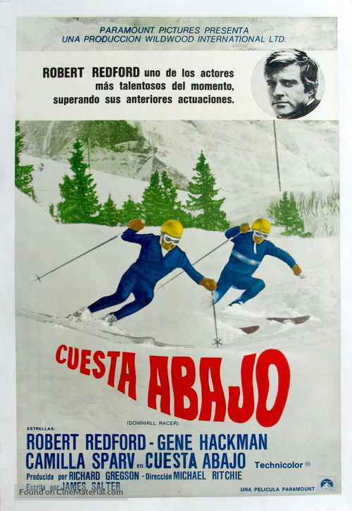 Downhill Racer - Movie Poster