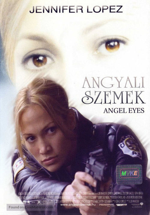 Angel Eyes - Hungarian Movie Cover