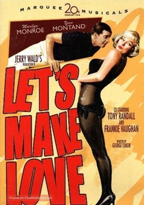 Let's Make Love - DVD movie cover